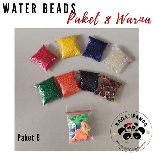 Foto Produk Paket B - 8 Water beads + 1 Growing Animal (8 WB + 1 Animal) dari Bagasi Panda