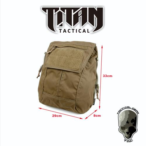 Foto Produk TMC BACKPACK BY ZIP PANEL COYOTE BROWN dari TITAN Tactical