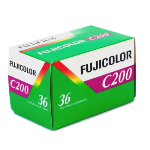 Foto Produk FUJIFILM C200 FILM ROLL FUJI FRESH dari idcamera
