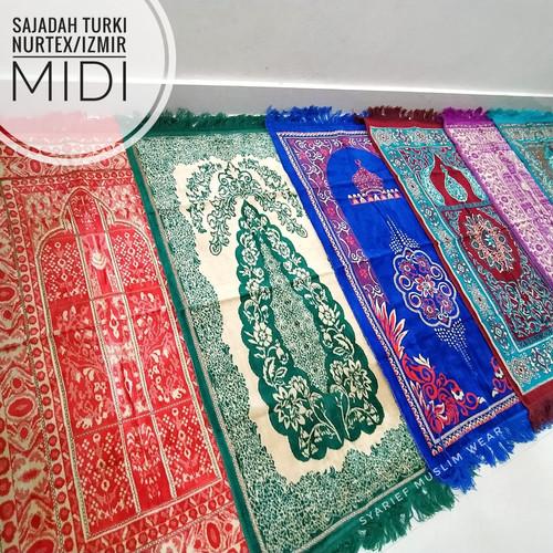 Foto Produk Sajadah Turki Halus - Nurtex Midi (ukuran standar) dari Syarief Muslim Wear