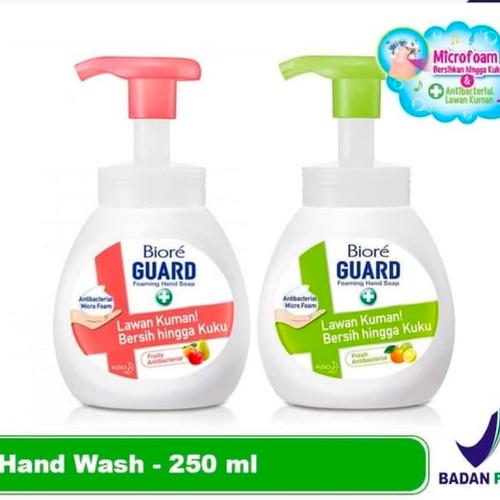 Foto Produk Biore Guard Hand Wash Foaming Anti Bakteri Botol Pump 250ML dari Yogieyo