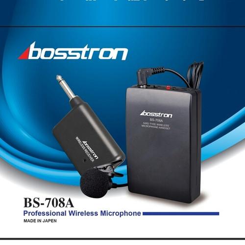 Foto Produk Mic Bosstron Bs-708A Mic wireless jepit clip mic dari Ayo Bli