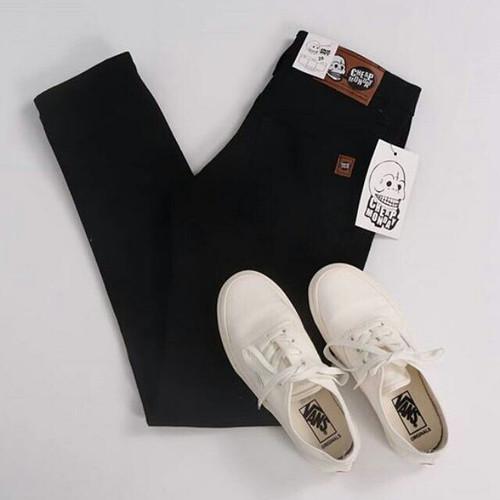 Foto Produk Celana JeanS Pria Levis pensil | ukuran besar | bigsize - Hitam, S dari ARGHA GROSIR FASHION