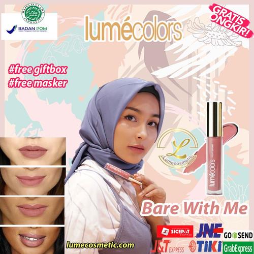 Foto Produk LUMECOLORS VELVET LIPCOAT - BARE WITH ME dari lumecolorsindonesia