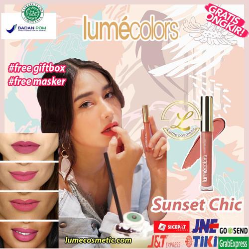 Foto Produk LUMECOLORS VELVET LIPCOAT - SUNSET CHIC dari lumecolorsindonesia