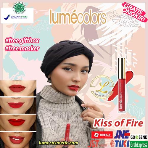 Foto Produk LUMECOLORS VELVET LIPCOAT - KISS OF FIRE dari lumecolorsindonesia