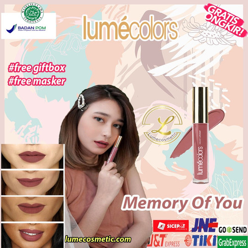 Foto Produk LUMECOLORS VELVET LIPCOAT - MEMORY OF YOU dari lumecolorsindonesia