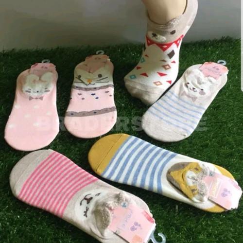 Foto Produk kaos kaki wanita motif lucu cewek anti bau kaos kaki perempuan murah dari My shop acc