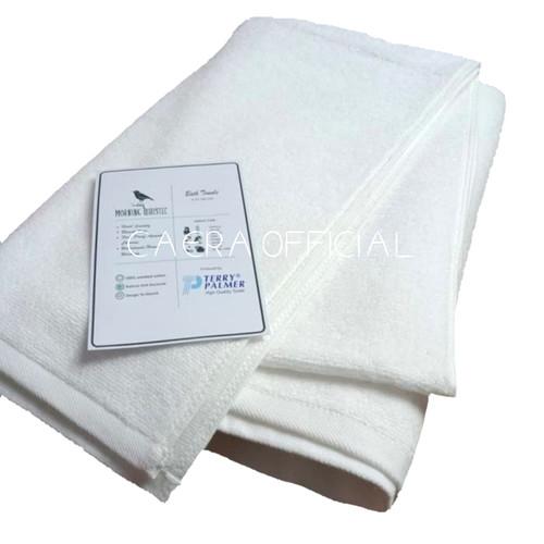 Foto Produk Handuk Morning Whistle Bath Towel Putih Hotel Type 70 cm x 140 cm dari CaeraOfficial
