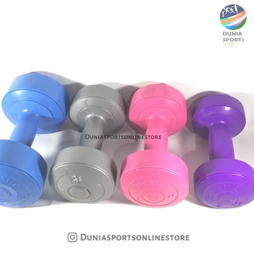 Foto Produk Dumble/barbel 1kg ( pink) kwalitas bagus dari dunia sports