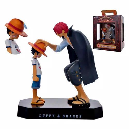 Foto Produk Action Figure One piece Luffy Shanks memories edition dari Rania Store16
