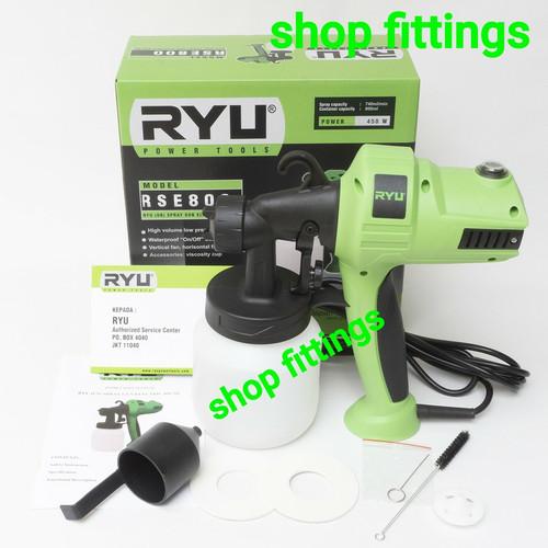 Foto Produk RYU RSE 800 Mesin Semprot Listrik HVLV Spray Gun Electric By TEKIRO dari shop fittings