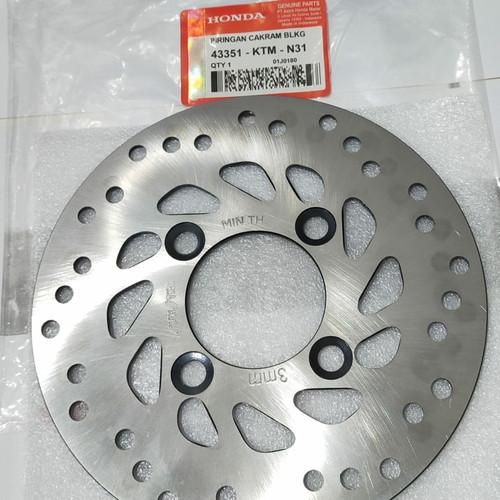 Foto Produk piringan cakram disc disk belakang honda supra x 125 blade dari afkar aksesoris
