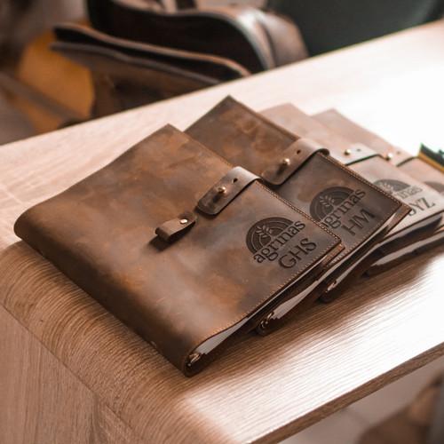 Foto Produk Buku Agenda Binder A5 Cover Kulit - Paul Model v2 *FREE GRAFIR* dari PAUL official