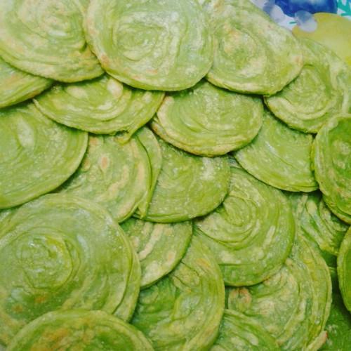 Foto Produk ROTI CANE PANDAN isi 10 Pcs / Canai / Maryam / Konde isi 10 dari Ka Salma Frozen Food