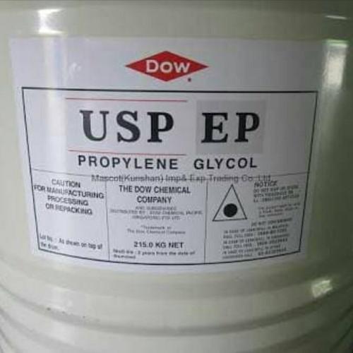 Foto Produk propilen glikol / PG / propilene glycol 1 kg usp grade original dow dari HK CHEMICALS