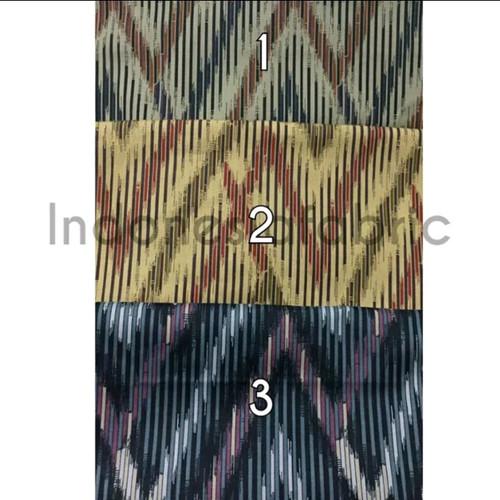 Foto Produk Kain bahan Katun Jepang Tokai Senko motif New Ikat - nomor 2 dari Toko Kain Grosir