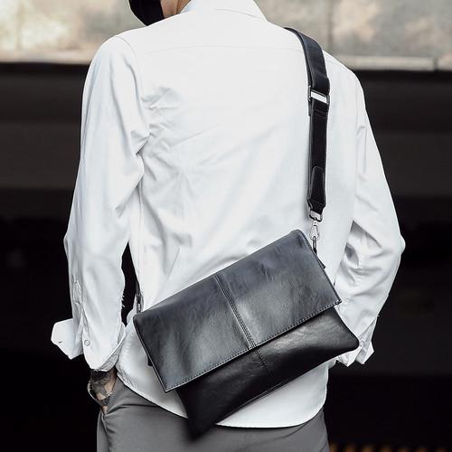 Foto Produk Tas Selempang Kulit Pria (TANGO) dari Leather Concept