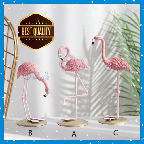 Foto Produk Ornamen Flamingo Pajangan Scandinavian Tropical / Hiasan Dekorasi - Varian B dari Owhale