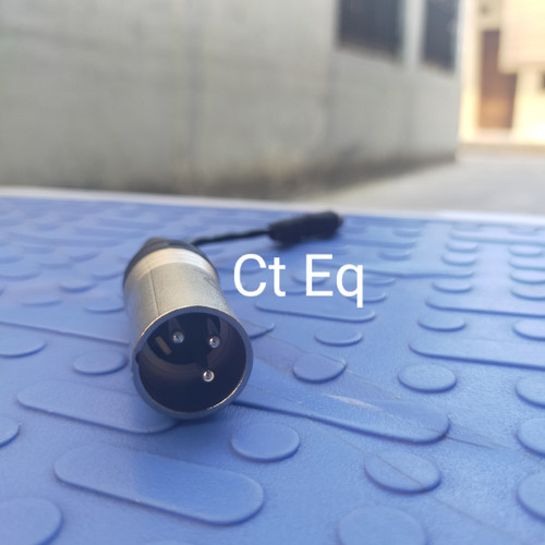 Foto Produk Converter Xlr Male to 3.5 mm female Adapter XLR to 3.5 mm dari Ct Eq