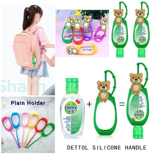 Foto Produk Holder Dettol Hand Sanitizer 50ml - Plain Holder dari Travelycious