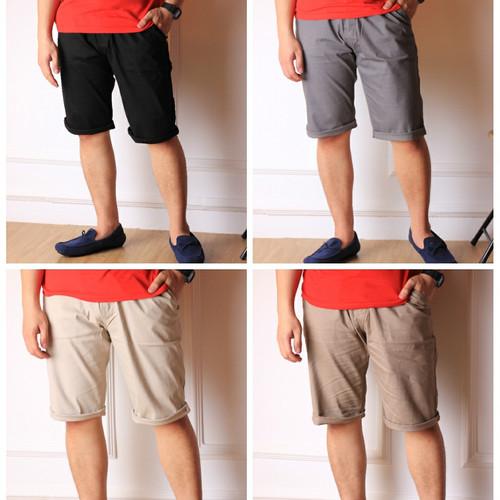 Foto Produk Celana Pendek Chino Pria Big size dari Baijonk Store Bandung