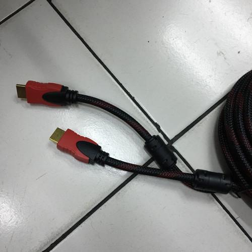 Foto Produk Kabel hdmi to hdmi 10M / hdmi 10meter /kabel hdmi jaring 10meter dari Moro Com