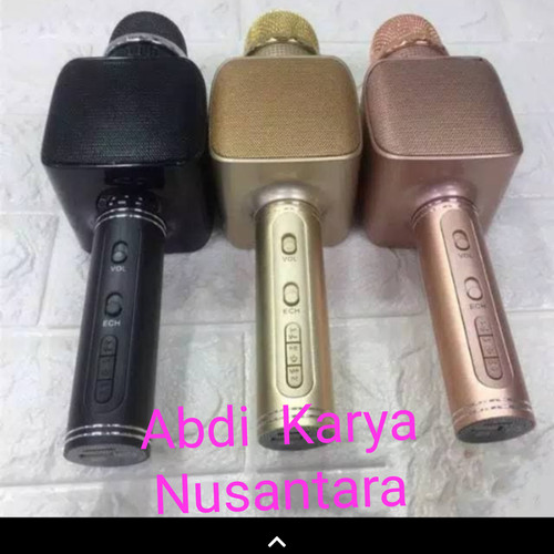 Foto Produk Mic Bluetooth Karaoke YS68 Mix Ys 68 ORIGINAL Smule Microphone Karauke dari Abdi Karya Nusantara