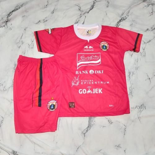 Foto Produk Jersey kaos baju bola setelan anak Persij-a red print - 4-5 tahun, Merah dari AZZA-STORE15