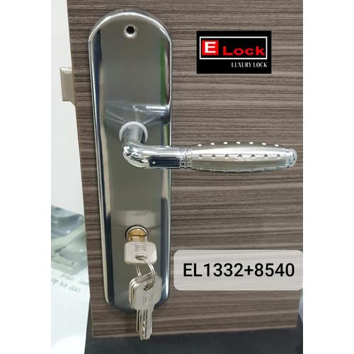 Foto Produk Kunci Pintu Elock Bergaransi El1332+8540+K60SET dari EuropeEnchanting