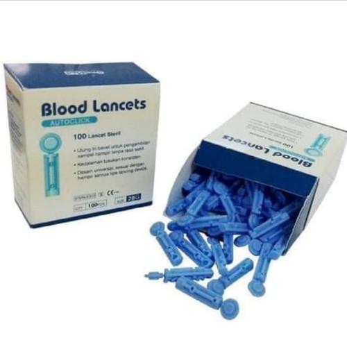 Foto Produk Blood lancet onemed/jarum lancet isi 100 dari BLESSING LIFE