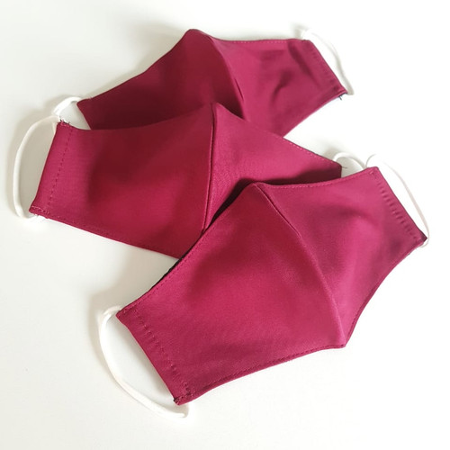Foto Produk Masker kain ANAK (COTTON) 3 ply - RED dari Moteza Indonesia