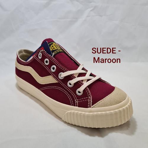 Foto Produk Sepatu Ventela Public Suede - Maroon & Navy - Maroon, 36 dari SHOE N SLIPPER