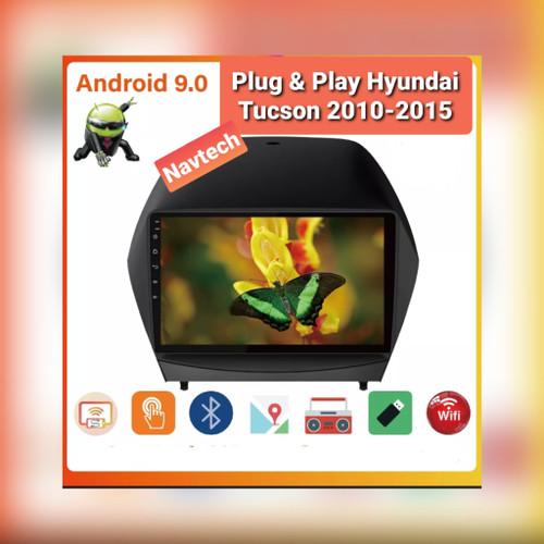 Foto Produk Head unit android oem Hyundai Tucson 9 inch 2GB Split screen IPS 2.5D - 9 inch 2GB dari Navtech