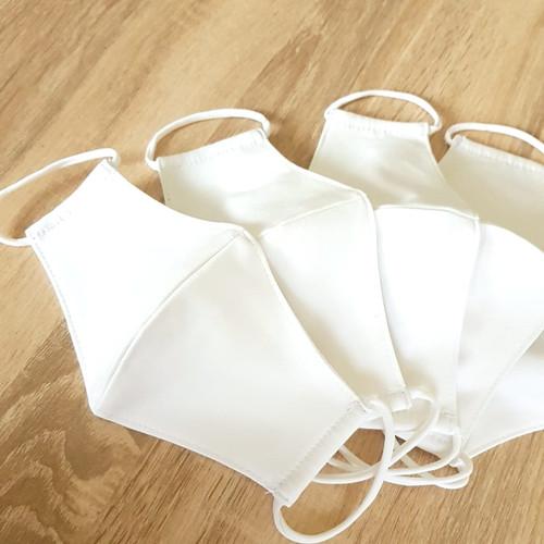 Foto Produk Masker kain ANAK (COTTON) 3 ply - WHITE dari Moteza Indonesia