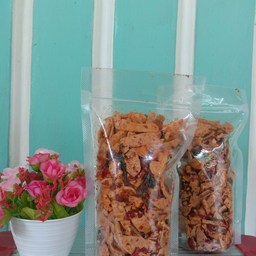 Foto Produk basreng daun jeruk pedas/original - Pedas dari s.e_family