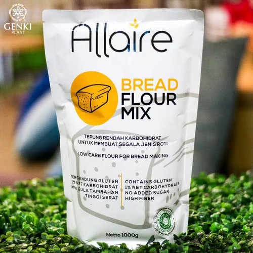 Foto Produk Tepung Ketobetic - 1 kg (Bread Flour Mix) dari Genki Plant