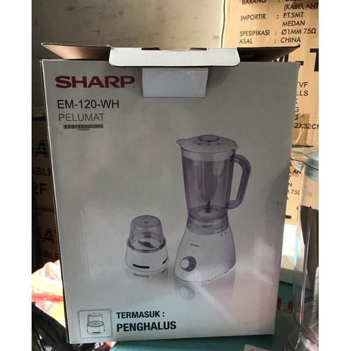 Foto Produk blender sharp em 120 wh putih dari toko semua elektronik