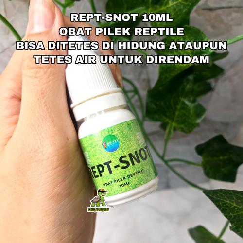 Foto Produk REPT-SNOT OBAT PILEK REPTIL TORTO SULCATA LEMAS HIDUNG BERAIR ISTAR dari XDR TURTLE