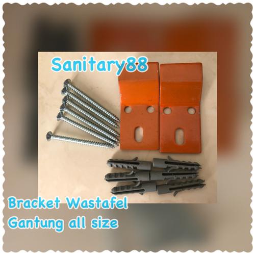 Foto Produk Bracket wastafel Gantung all Size dari Sanitary88