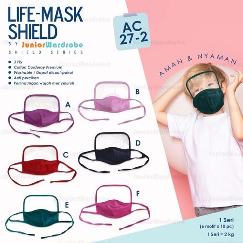 Foto Produk Life Mask masker+face shield anak kids dari kawaiisportware