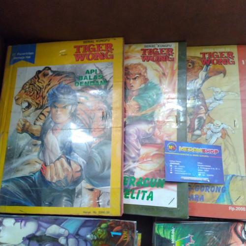 Foto Produk Komik TIGER WONG 01 - 55 (ada bonus) dari MEDANSHOP.net