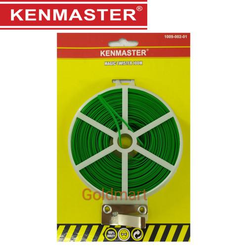 Foto Produk Kabel Ties/Tali Kawat / Kenmaster Kabel Twister 100m dari Gold-Mart
