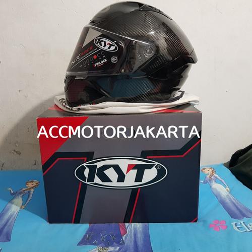 Foto Produk KYT NX Race Full Carbon Black, Limited Edition SNI | Original KYT 100% dari AccMotorJakarta