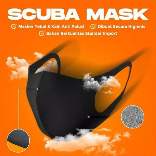 Foto Produk Masker kain scuba / masker non medis - Dewasa dari Rmliyani
