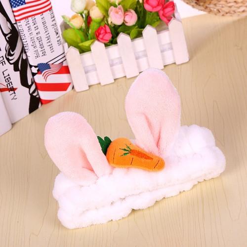 Foto Produk PANACHE Cute Rabbit Hairband Makeup Facial Bando Ikat Rambut Bandana - BLACK dari PANACHE