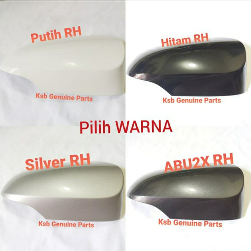 Foto Produk Cover Caver Tutup Spion Kanan RH Toyota Calya Sigra Original Asli - silver dari Sumber Genuine Parts