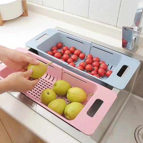 Foto Produk Keranjang Tirisan Saringan Sayur Buah Wastafel Import dari one mobile 1