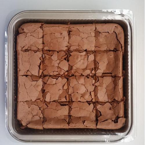 Foto Produk Fudgy Brownies 1 Loyang (Uk. 20x20 cm) dari Mbok Gereh
