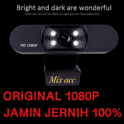 Foto Produk H800 2MP FULL HD Webcam ORIGINAL 1080P With Microphone Web cam Pc dari Mix acc88